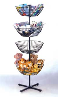 Basket Spinner Rack