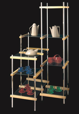 Monkey Bar Shelf Unit